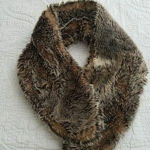 Dress it up with faux fur
